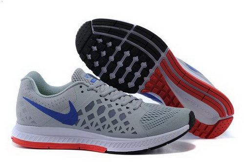 Nike Air Zoom Pegasus 31 Lunar Mens Shoes Gray Blue Red Switzerland