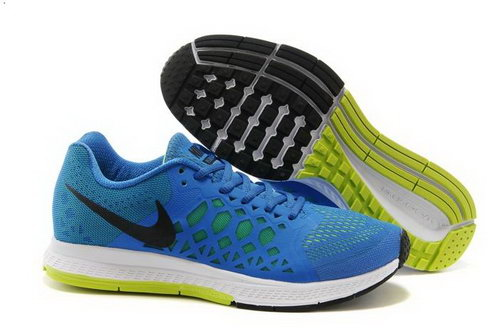Nike Air Zoom Pegasus 31 Lunar Mens Shoes Ocean Blue Yellow Black For Sale