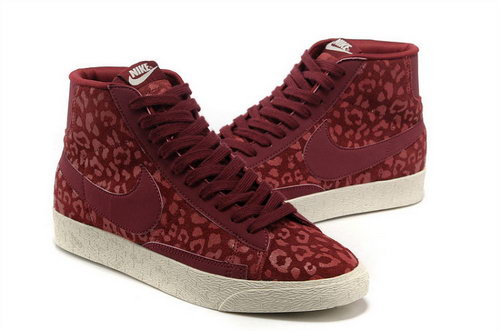 Nike Blazer High Mens & Womens (unisex) I Leopard Wine Usa