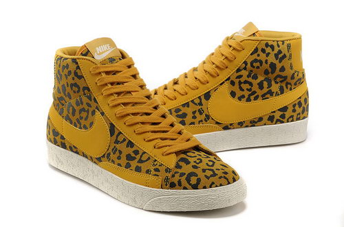 Nike Blazer High Mens & Womens (unisex) I Leopard Yellow Promo Code