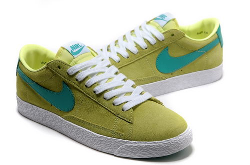 Nike Blazer Low Mens & Womens (unisex) I New Green White Low Cost