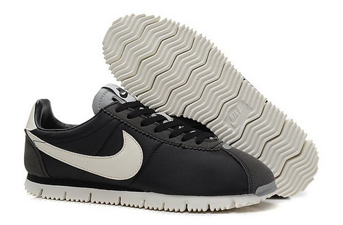 Nike Classic Cortez Nm Qs Womens Shoes Black White For Sale