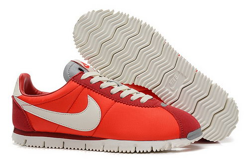 Nike Classic Cortez Nm Qs Womens Shoes Red White Portugal