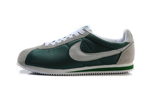 Nike Classic Cortez Nylon Mens Shoes Green Gray Norway