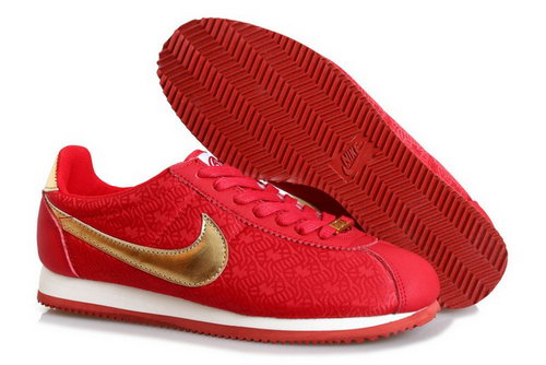 Nike Classic Cortez Yoth Womens Shoes Fur China Red Germany