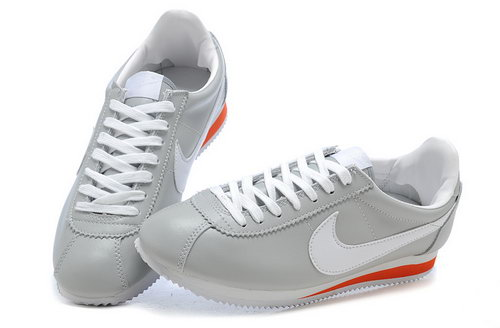 Nike Cortez Leather Womens & Mens (unisex) Grey White Online Shop