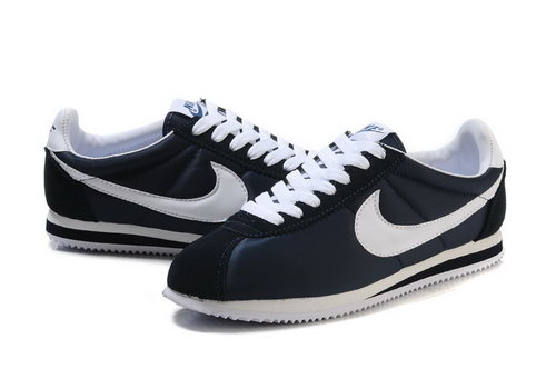 Nike Cortez Mens Dark Blue White Online