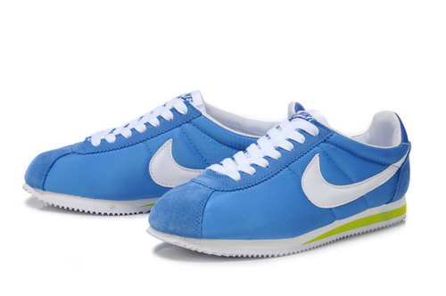 Nike Cortez Unisex Blue White Green Factory Outlet