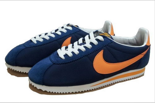 Nike Cortez Unisex Dark Blue Orange Factory