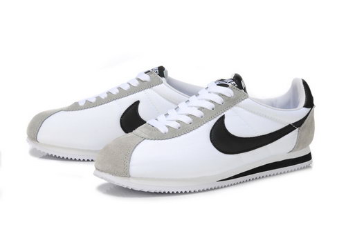 Nike Cortez Unisex Grey White Black Low Price