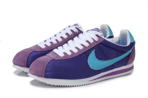 Nike Cortez Unisex Purple Blue Coupon