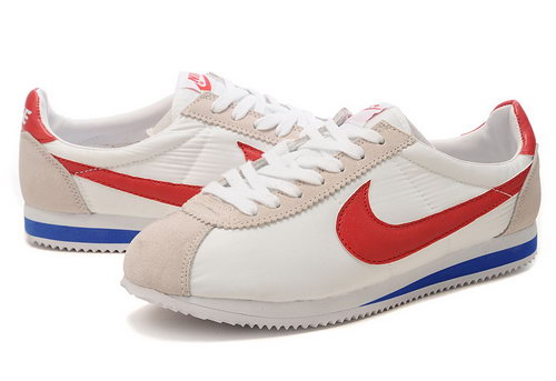 Nike Cortez Unisex White Red Wholesale