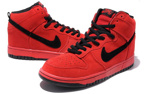 Nike Dunk High Mens & Womens (unisex) Hellboy - Red Factory Store