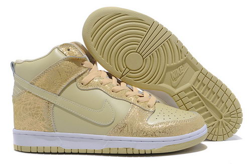 Nike Dunk High Mens & Womens (unisex) Pale Goldenrod On Sale