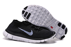 Nike Flyknit 5.0 Black Grey Men Shoes Promo Code