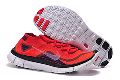 Nike Flyknit 5.0 Red Black Men Shoes Czech