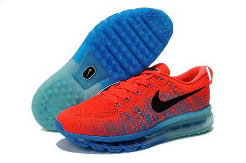 Nike Flyknit Air Max Mens Shoes Red Black Blue Green Switzerland