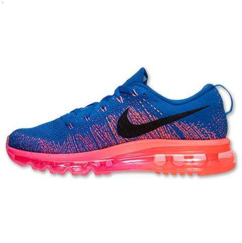 Nike Flyknit Air Max Womens Shoes Blue Pink Black Hot On Sale Best Price