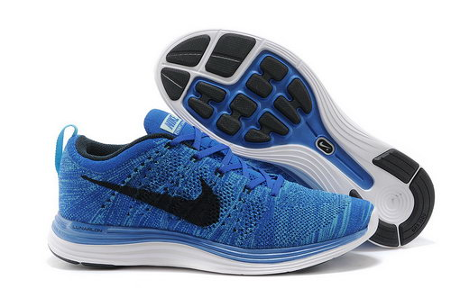 Nike Flyknit Lunar 1 Men Blue Black Switzerland