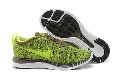 Nike Flyknit Lunar 1 Mens Green Brown Australia