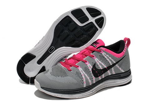 Nike Flyknit Lunar 1 Women Grey Pink Cheap