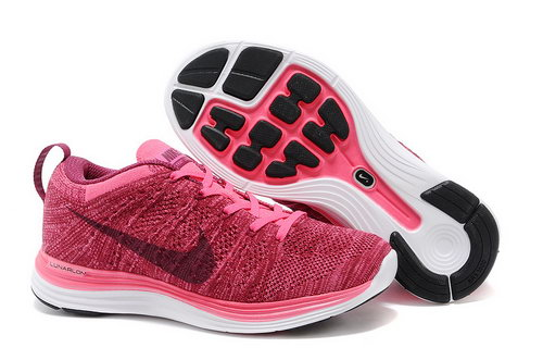 Nike Flyknit Lunar 1 Women Pink Black Best Price