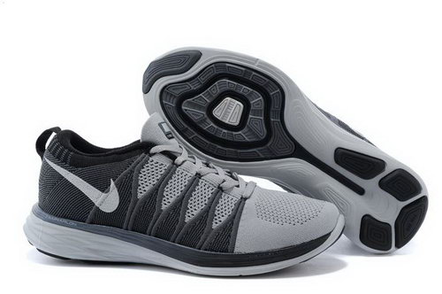 Nike Flyknit Lunar Ii 2 Mens Shoes Deep Gray Black Ireland