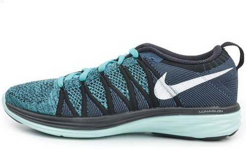 Nike Flyknit Lunar Ii 2 Womens Running Shoes Green White Italy