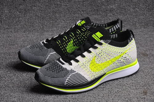 Nike Flyknit Racer Mens & Womens (unisex) Black White Yellow Coupon Code