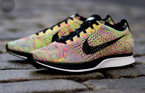Nike Flyknit Racer Mens & Womens (unisex) Multicolor Rainbow Portugal