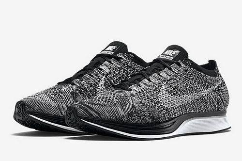 Nike Flyknit Racer Mens & Womens (unisex) Oreo 2.0 Dark Grey White-black Japan
