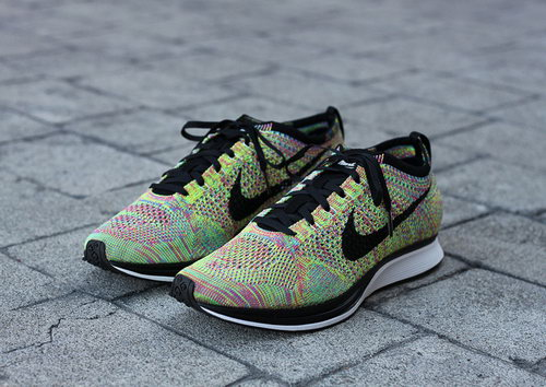 Nike Flyknit Racer Mens & Womens (unisex) Rainbow Multicolor Usa