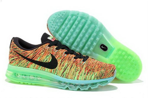 Nike Flynit Max Womens Shoes New Releases Green Brown Black Hot Taiwan