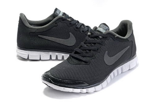 Nike Free 3.0 Mens Black Grey China