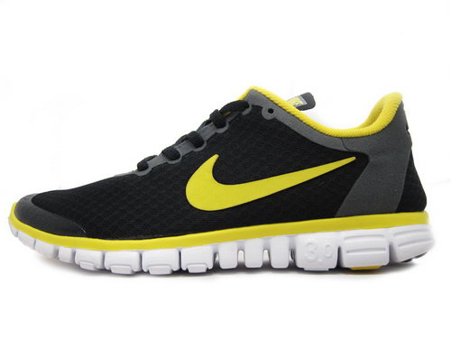 Nike Free 3.0 Mens Black Yellow Ireland