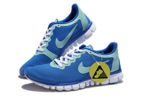 Nike Free 3.0 Mens Blue Grey Green On Sale