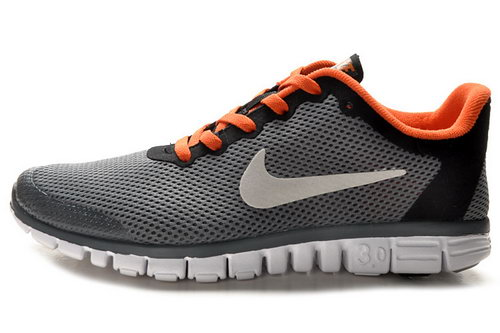Nike Free 3.0 Mens Dark Grey Orange Online