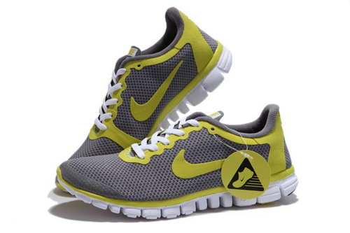 Nike Free 3.0 Mens Dark Grey Yellow Hong Kong