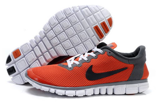 Nike Free 3.0 Mens Orange Black Norway