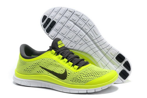 Nike Free 3.0 V5 Mens Fluorescent Green Factory Outlet