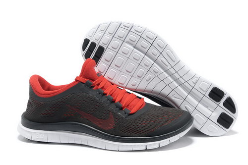 Nike Free 3.0 V5 Mens Size Us7.5 9 10.5 11.5 Grey Red Low Price
