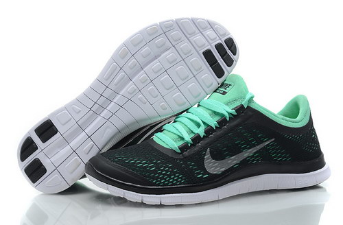 Nike Free 3.0 V5 Womens Black Green Italy