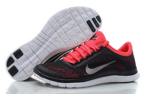Nike Free 3.0 V5 Womens Black Red Coupon