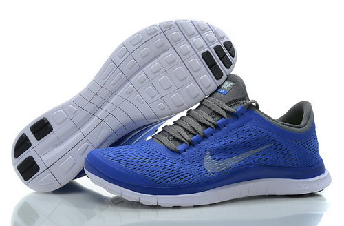 Nike Free 3.0 V5 Womens Blue Grey Sweden