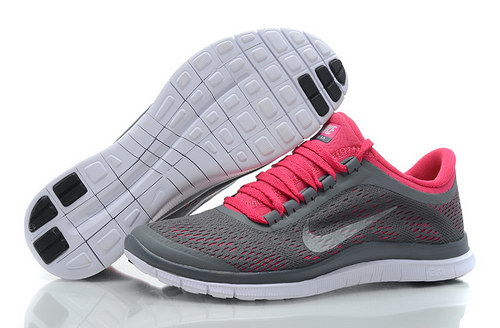 Nike Free 3.0 V5 Womens Grey Pink Poland
