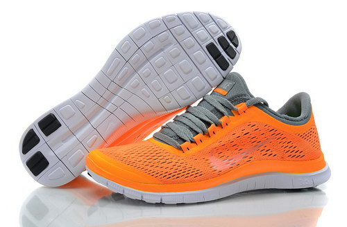 Nike Free 3.0 V5 Womens Orange Grey Coupon Code