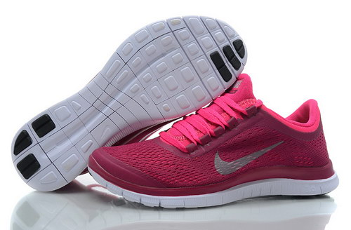 Nike Free 3.0 V5 Womens Wine Red Pink Sale