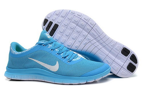 Nike Free 3.0 V6 Ext Mens Shoes Sky Blue White Hong Kong