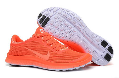 Nike Free 3.0 V6 Ext Womens Shoes All Orange Factory
