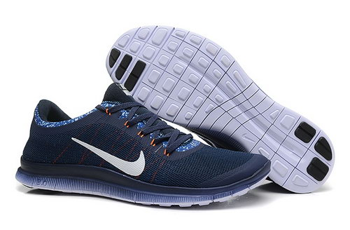 Nike Free 3.0 V6 Ext Womens Shoes Black Blue White Low Price